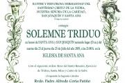 Triduo Santa Ana y San Joaquín 2019