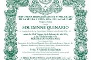 Solemne Quinario 2018