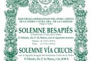 Solemne Besapiés y Vía Crucis 2018