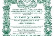 Solemne Quinario 2019