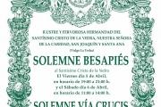 Solemne Besapiés y Vía Crucis 2019