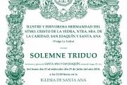 Triduo Santa Ana y San Joaquín 2018